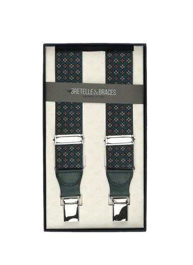 Bretelle & Braces Pantolon Askısı Yeşil